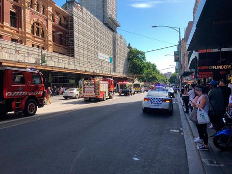 People Injured In Melbourne After Car Hits Pedestrians