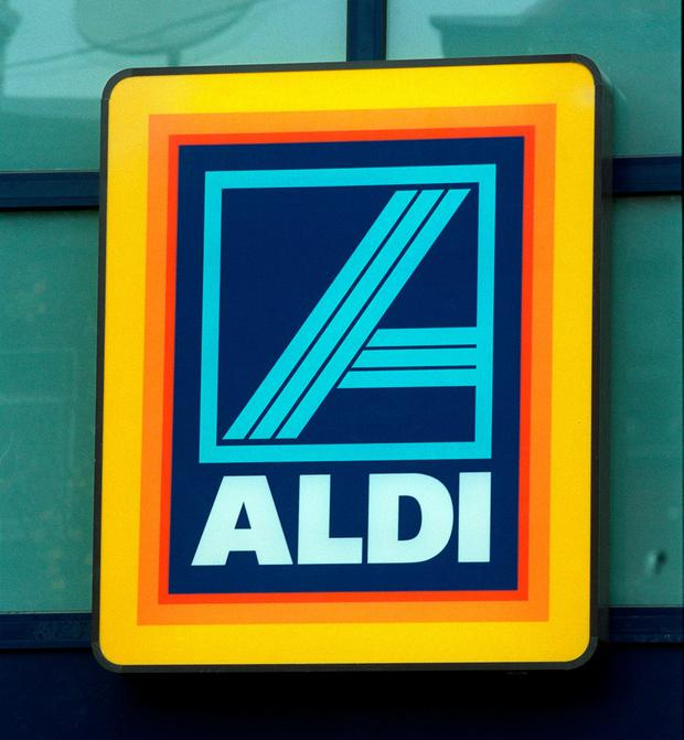 A member of staff in Aldi was pushed to the ground