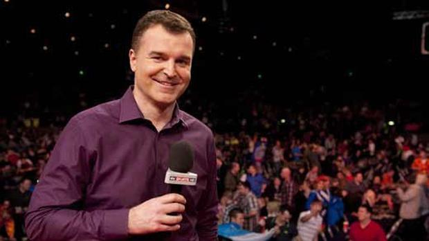 Dave Clark is the anchor on Sky Sports' Darts coverage