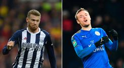 James McClean and Jamie Vardy have both served bans over the festive period in recent years