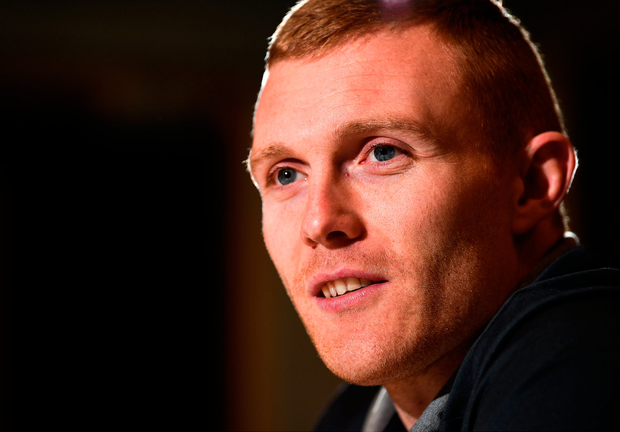 Keith Earls is happy with his lot and looking forward to new year. Photo by Diarmuid Greene/Sportsfile