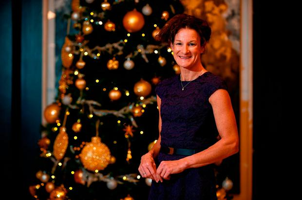 Sonia O'Sullivan in The Croke Park before being inducted into the Irish Independent Hall of Fame. Photo: Sam Barnes/Sportsfile