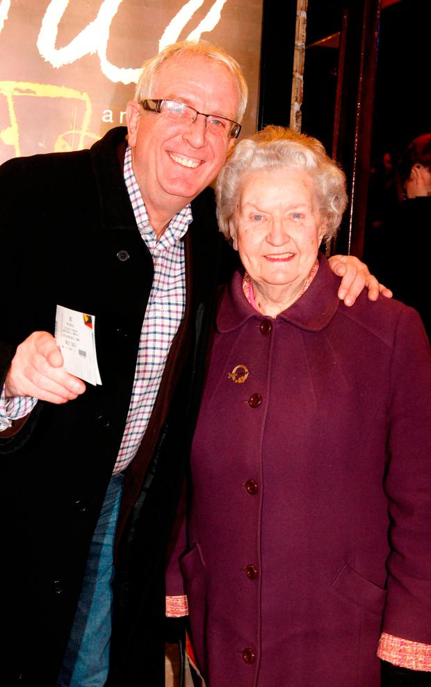 Rory Cowan and his mother Ester