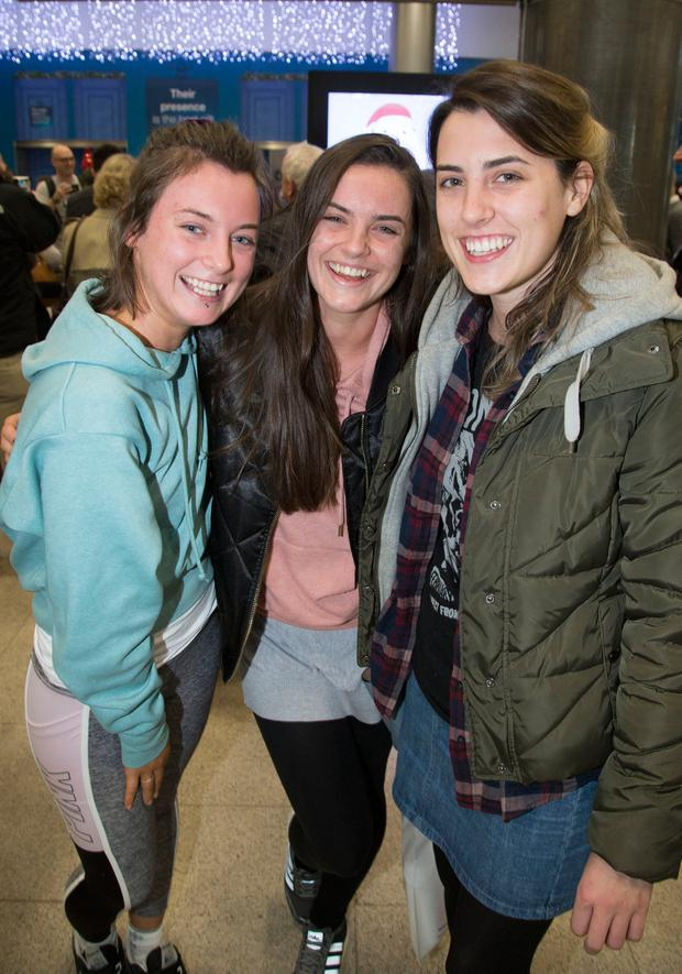 Knocklyon sisters Lydia and Jasmine Redmond are reunited with sibling Victoria.