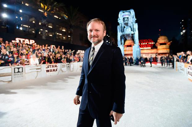 Writer/Director Rian Johnson at the world premiere of Lucasfilm's Star Wars: The Last Jedi at The Shrine Auditorium on December 9, 2017 in Los Angeles, California. (Photo by Charley Gallay/Getty Images for for Disney)