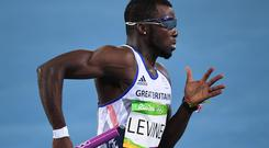 Nigel Levine competed at the Rio Olympics