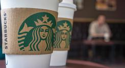 Starbucks has now overtaken O'Brien's to become the third-largest player in the market. Stock photo: Getty Images