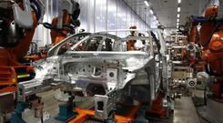 BMW, Ford, Mercedes and VW are among the firm's customers for the car components. Stock photo: Reuters