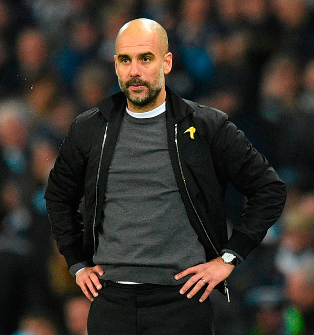 Pep Guardiola is prepared to challenge his players. Photo: Getty Images