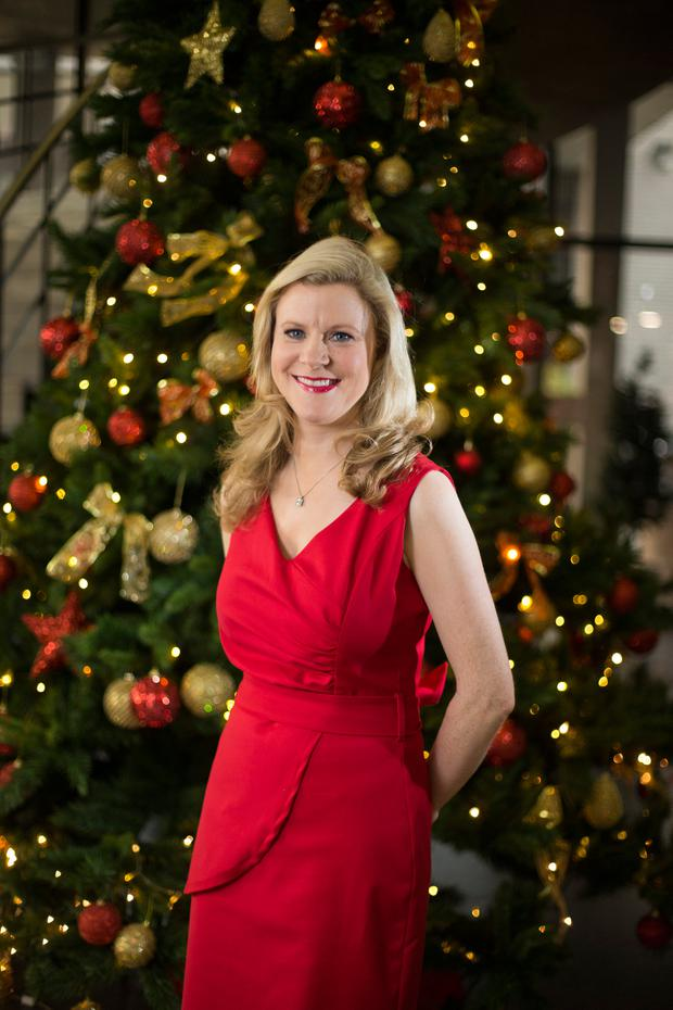 It could be you: Weather forecaster Nuala Carey hopes to create new Lotto millionaires over the festive period