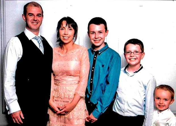 Alan Hawe murdered his wife Clodagh and three sons, Liam (13), Niall (11) and Ryan (6), before committing suicide at their home near Ballyjamesduff