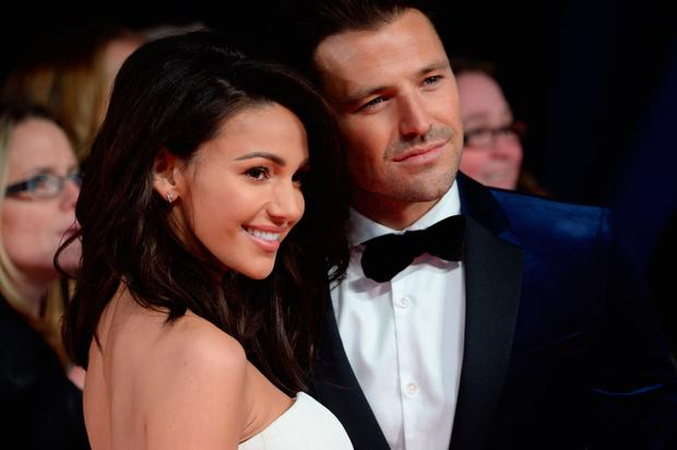 Michelle Keegan and Mark Wright attend the National Television Awards on January 25, 2017 in London, United Kingdom. (Photo by Anthony Harvey/Getty Images)