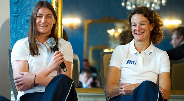 Katie Taylor and Sonia O'Sullivan