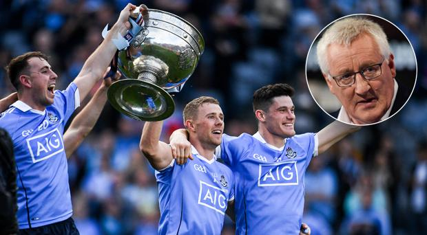 Pat Spillane couldn't believe how the Dubs were overlooked during awards season