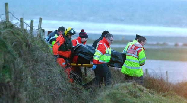 Families 'heartbroken' after two men die in auto swept away in Ireland