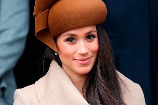 Meghan Markle attends Christmas Day Church service at Church of St Mary Magdalene on December 25, 2017 in King's Lynn, England. (Photo by Chris Jackson/Getty Images)
