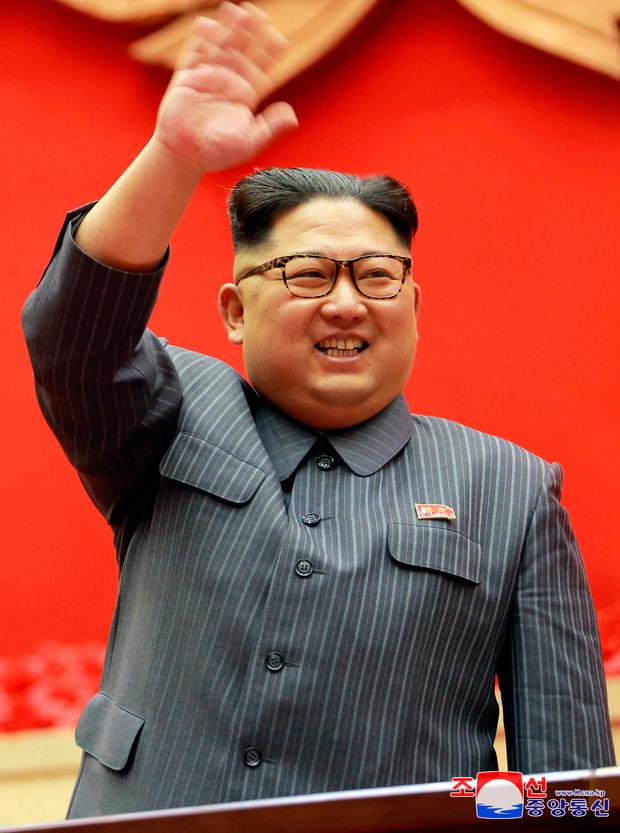 President Kim Jong-un. Photo: KCNA/via REUTERS
