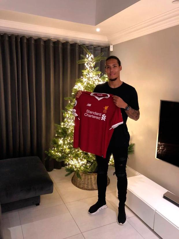 Virgil van Dijk has signed for Liverpool. Picture: Liverpool FC/Twitter