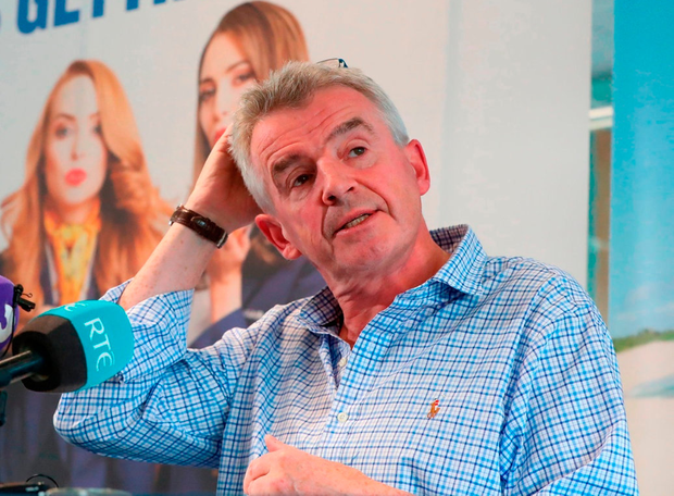 After earlier vowing to remove 'goodies' from Ryanair pilots as unrest spread, Michael O'Leary took credit for the U-turn on union recognition. Photo: Niall Carson/PA