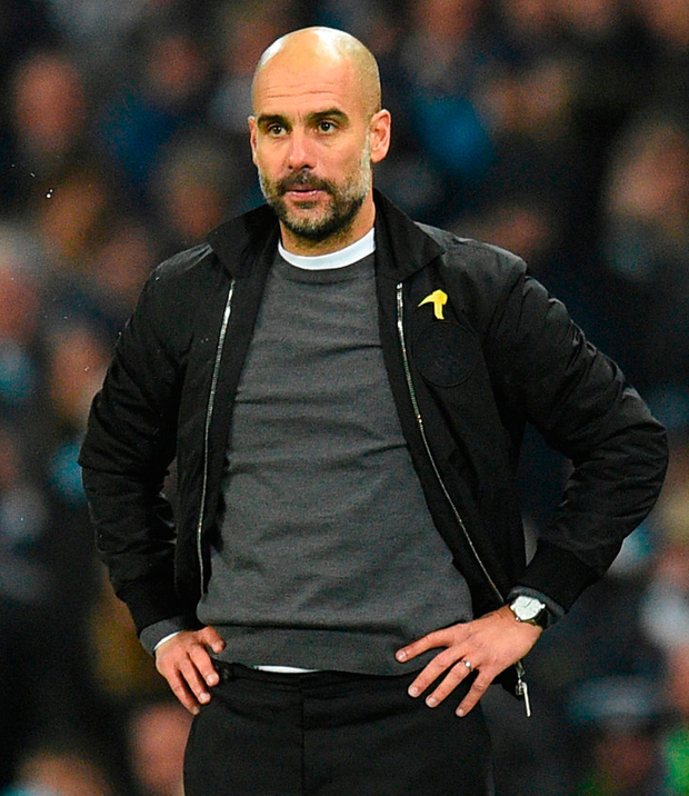 Guardiola: Another victory. Photo: Getty Images