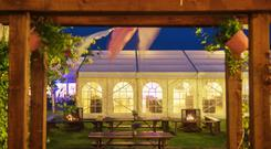 The marquee at Doolin