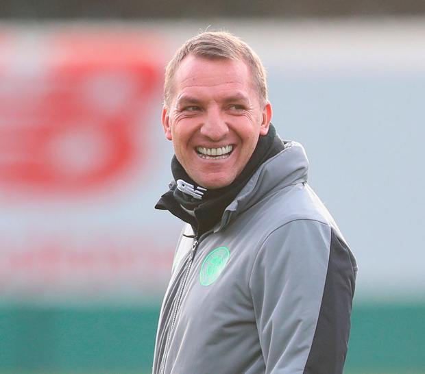 Brendan Rodgers will be aiming to guide Celtic to another 'Old Firm' victory over Rangers Photo: Getty
