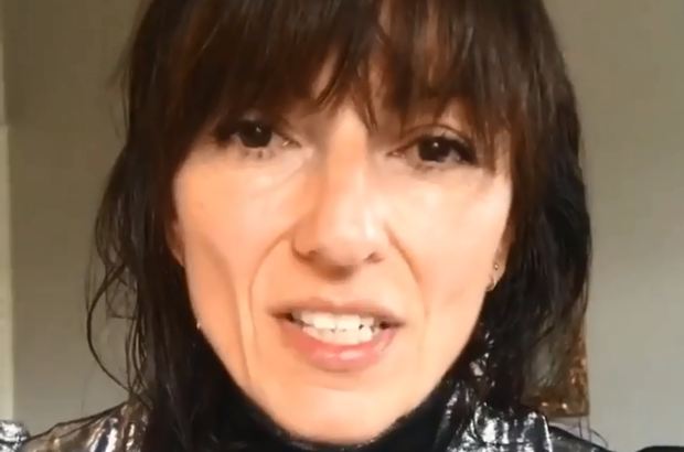 "Davina McCall shared an emotional video on Instagram in which she gave her followers a ""Christmasy hug""."