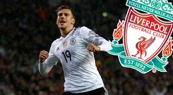 Liverpool are reported to have been chasing Goretzka