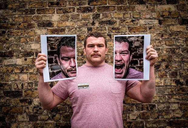 Leinster's Jack McGrath has done much for the 'Tackle Your Feelings' campaign by talking about his brother's tragic death. Photo: ©INPHO/Billy Stickland