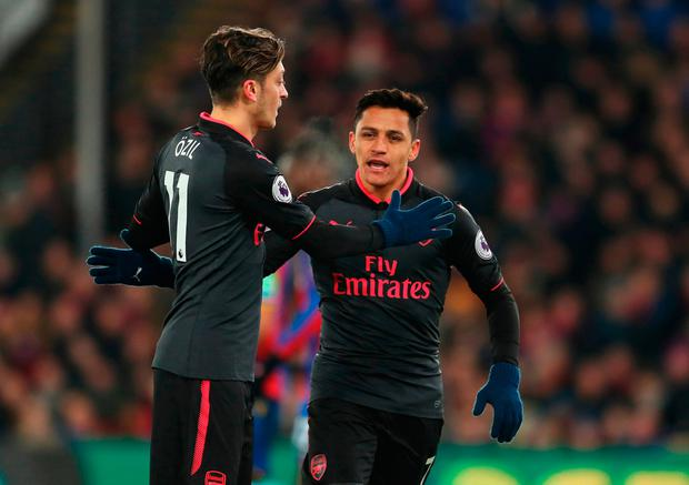 Mesut Ozil, Alexis Sanchez, Kevin Long, Theo Walcott and Philippe Coutinho will all generate plenty of conjecture when the transfer window opens on Monday. Photo: Getty