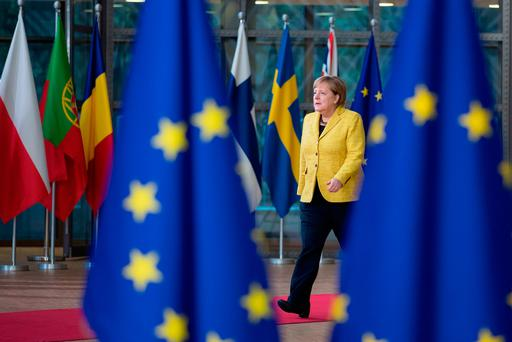 Chancellor Angela Merkel's Germany is enjoying record-low unemployment and a rise in the export sector