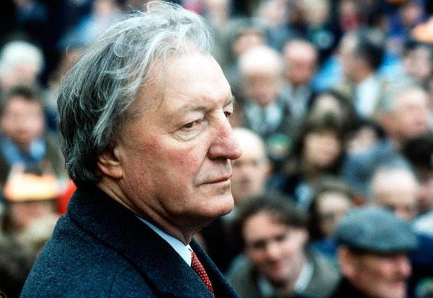 Taoiseach Charles Haughey pictured in 1987 Picture: Maxpix
