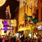 New Year's Eve celebrations in Dublin last year