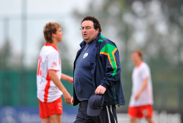 Sean McCaffrey managed Ireland at underage level