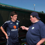 Sean McCaffrey speaking to Robbie Brady in 2008