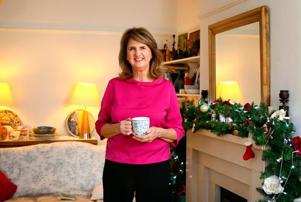 Former Labour Party leader Joan Burton has pledged to continue standing up for her principles after the trauma of the anti-water charge protest and trial. Photo: Frank McGrath