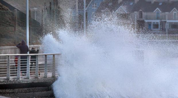 'Small chance of danger to life': Northern Ireland set for strong winds