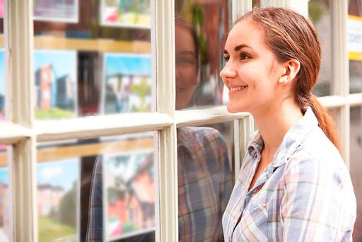 First time buyers are finally getting a foothold in the property market. Stock Image