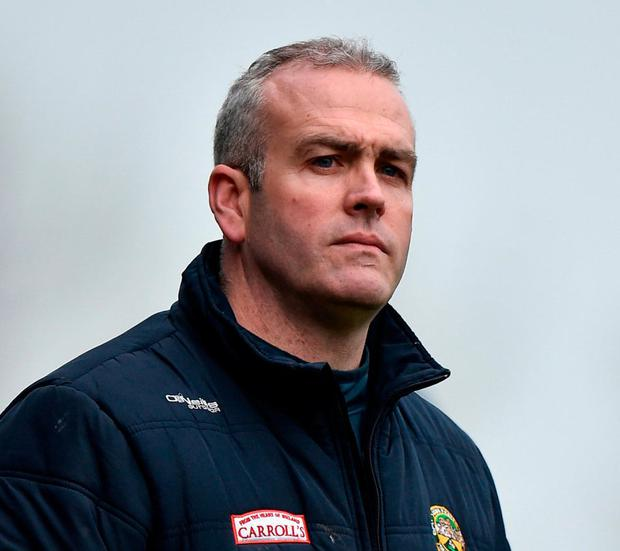 Offaly boss Kevin Martin. Photo: Seb Daly/Sportsfile