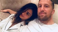 Nadia Forde and boyfriend Dominic Day. PIC: Nadia Forde/Instagram