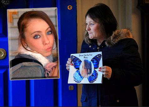 Christine Kenny wants to know what happened to her niece Amy Fitzpatrick (inset)