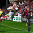 1 January 2018; Robert Lyttle of Ulster goes over to score his side's fourth try during the Guinness PRO14 Round 12 match between Ulster and Munster at Kingspan Stadium in Belfast. Photo by David Fitzgerald/Sportsfile