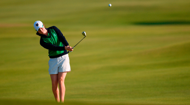 Leona Maguire of Ireland. Photo by Stephen McCarthy/Sportsfile