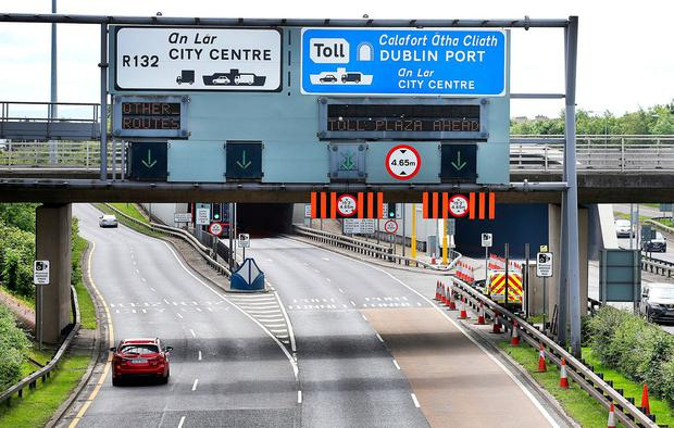 Dublin Port Tunnel. Photo: Steve Humphreys