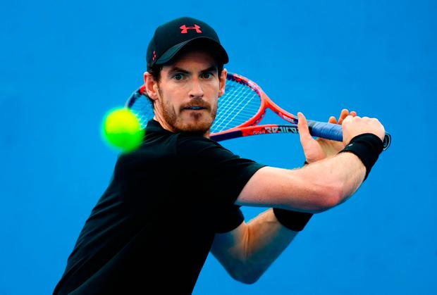 Britain's Andy Murray. Pic Getty Images