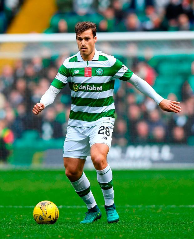 Celtic's Erik Sviatchenko. Photo credit: Craig Watson/PA Wire