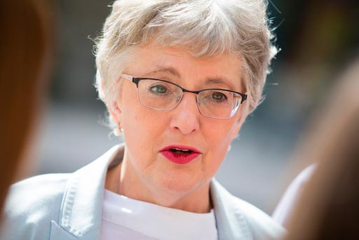 Lessons: Children and Youth Affairs Minister Katherine Zappone. Pic Paul Sharp/Sharppix