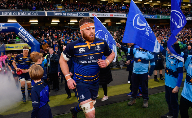 Sean O'Brien of Leinster