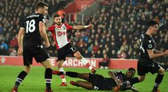 Shane Long produced a fine finish to end his enduring goal drought