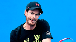 The last occasion Andy Murray was in the thirties in the world rankings was 2006. Photo: Bradley Kanaris/Getty Images